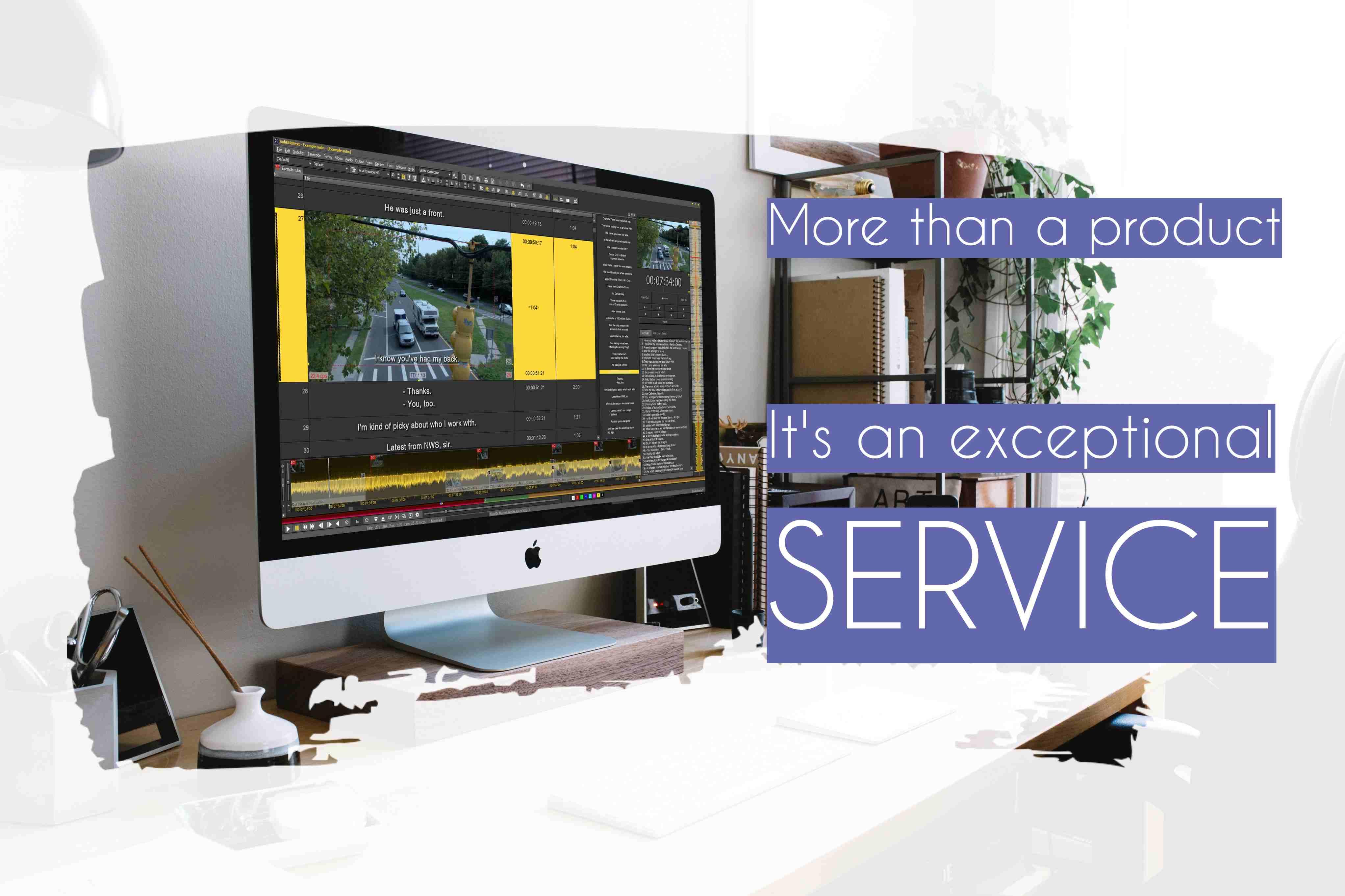 subtitling service